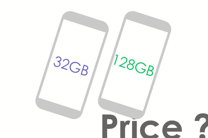 端末価格(32GB/128GB)