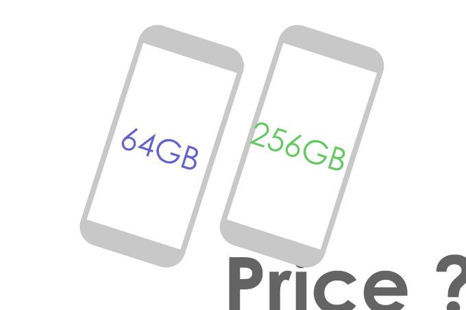 端末価格(64GB/256GB)
