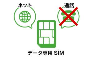データ専用SIM