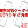 2019年2月に発売のケータイ2機種を紹介