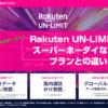 Rakuten UN-LIMITとスーパーホーダイなどのプランとの違いは?