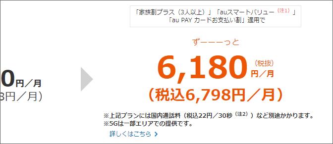 税込6,798円/月
